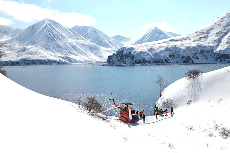 סקי מסוקים בקמצ