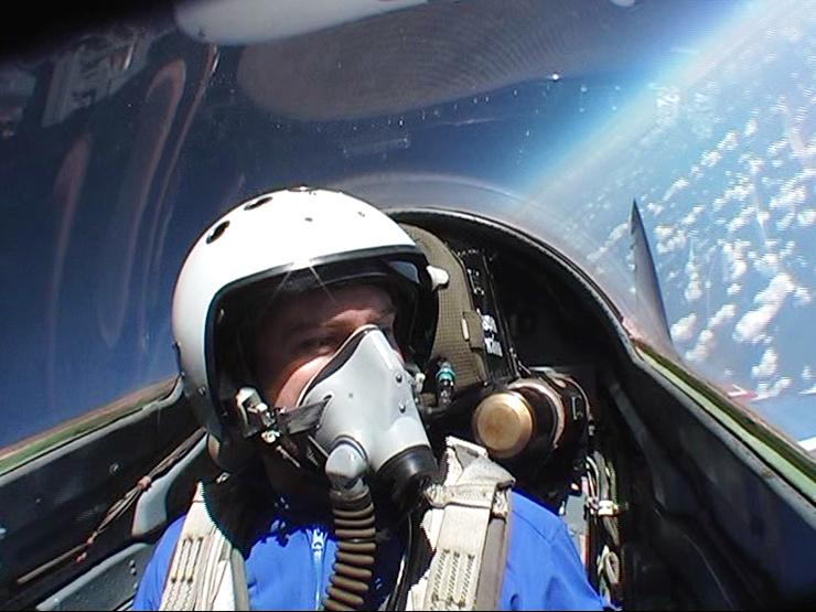 טיסה לקצה החלל במיג 29, צילום: shauns cracked compass