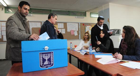 Israeli election. Photo: Shutterstock