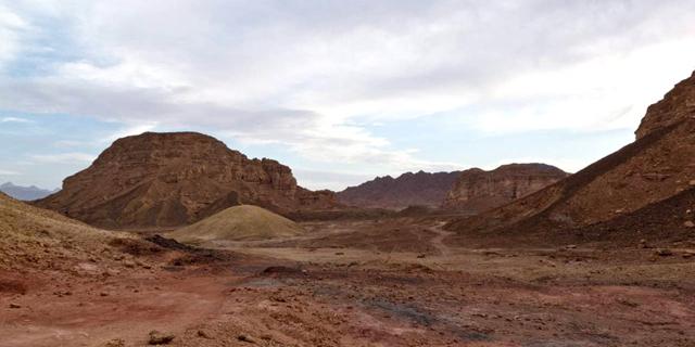 עמק ססגון, פארק תמנע, צילום: גיא שטרית