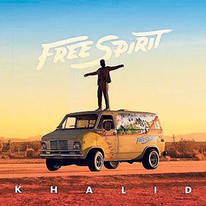 חאליד - עטיפת האלבום Free Spirit