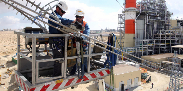 הקורונה וירידת תעריף החשמל חתכו את ההכנסות של תחנות הכוח הפרטיות