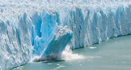קרחון קרחונים נמסים התחממות גלובלית אנטרקטיקה , צילום: שאטרסטוק