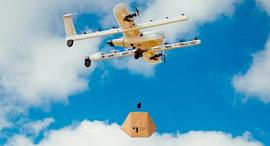 אלפבית Wing משלוחי רחפנים, צילום: Wing