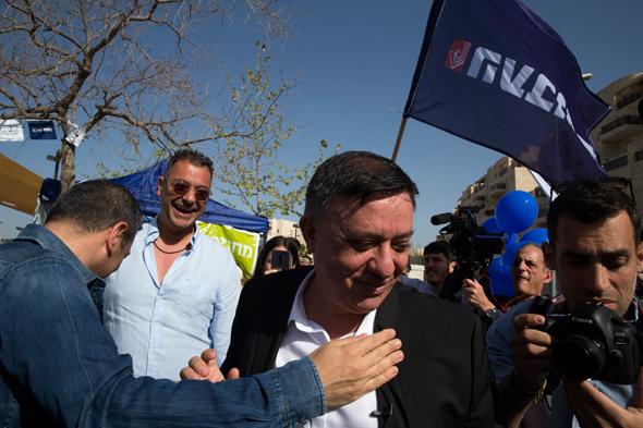 """יו""""ר מפלגת העבודה אבי גבאי, צילום: עמית שאבי"""