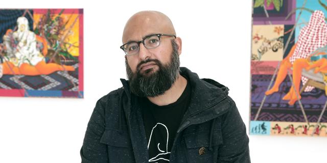 """האמן אמיר ה. פלה: """"אני שונא גבולות"""""""