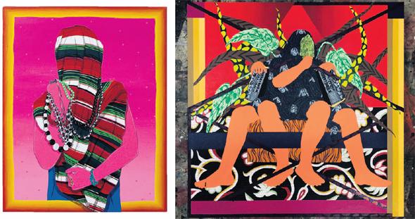"""עבודות בתערוכה """"A Hybrid Heart"""", שמוצגת בגלריה גורדון בתל אביב. """"הרבה מההכלאות בעבודות שלי נוצרות גם בישראל"""""""