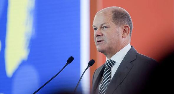 שר האוצר הגרמני אולאף שולץ (Olaf Scholz), צילום: גטי אימג