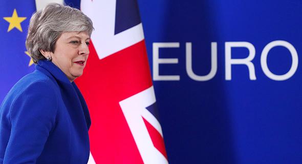 תרזה מיי ראש ממשלת בריטניה ברקזיט אפריל 2019, צילום: רויטרס