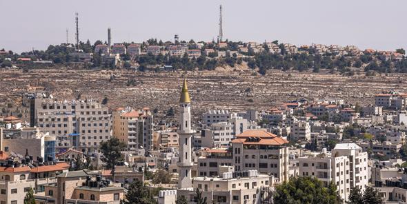 הרשות הפלסטינית שטחים התנחלות בנייה בשטחים, צילום: שאטרסטוק