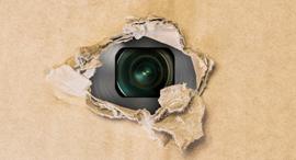 מצלמה ריגול ניטור פרטיות, צילום: שאטרסטוק