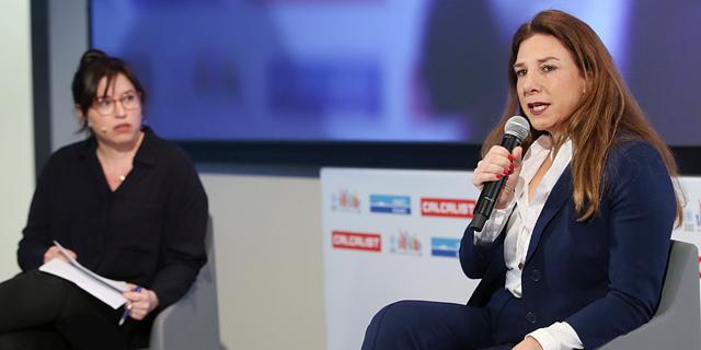 """תמי מזאל שחר בשיחה עם כתבת """"כלכליסט"""" הגר רבט, צילום: אוראל כהן"""