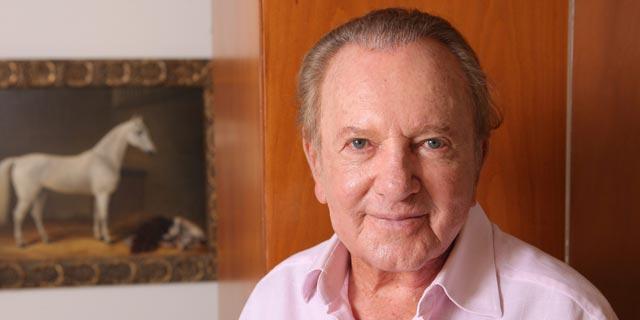 מוריס קאהן, ממייסדי דפי זהב ואמדוקס, מחזיק ב־11.9% ב־VBL, צילום: עמית שעל
