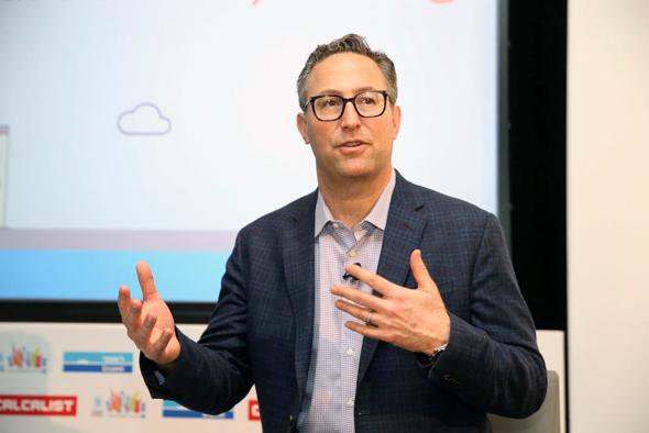 """ג'ף גלוק, מנכ""""ל חברת המיפוי פורקסוור"""