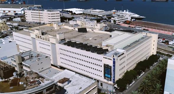 בניין פורטאון בנמל חיפה. מפיל לבן למתחם הכי מעניין בעיר