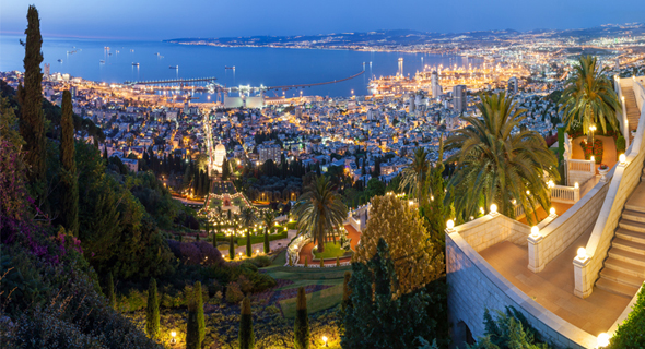 חיפה במבט צפונה. כבר לא מקנאת בתל אביב