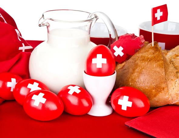 ארוחת בוקר, שוויץ