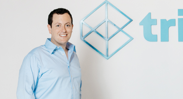 Trigo CEO and co-founder Michael Gabay. Photo: Omer Hacohen