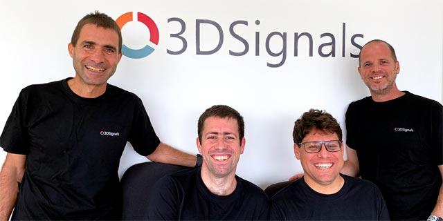 חברת 3DSignals הרחיבה סבב גיוס ל-20.5 מיליון דולר