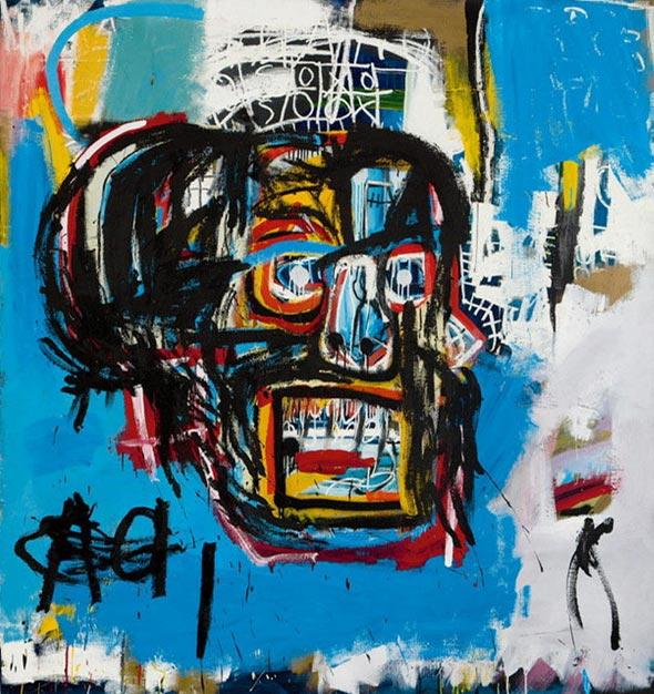 הציור של בסקיאט שנמכר ב־110.5 מיליון דולר. הרוכש הצטלם איתו לאינסטגרם