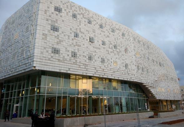 בניין צ'ק פוינט באוניברסיטת תל אביב מדעי המחשב, צילום: צלי גרינברג