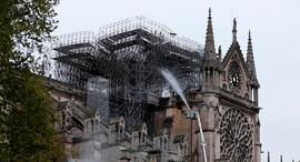 קתדרלת נוטרדאם שריפה פריז צרפת, צילום: AFP