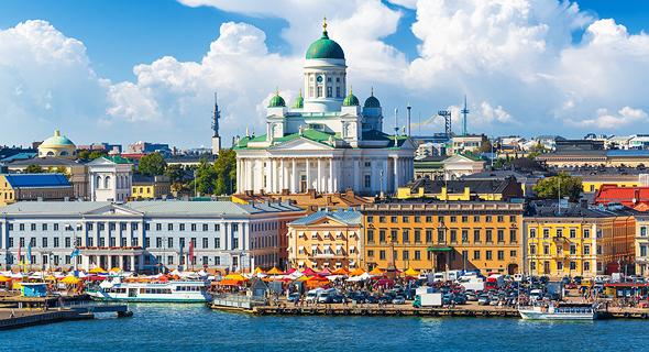 הלסינקי, פינלנד. הכי בטוחה, צילום: שאטרסטוק