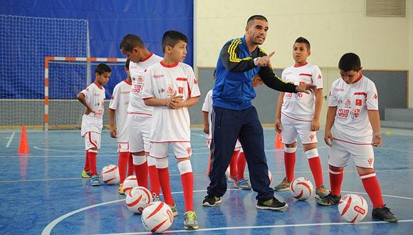 אימון בני נוער, צילום: ישראל יוסף