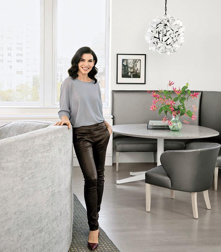 ג'וליאנה מרגוליס בדירה
