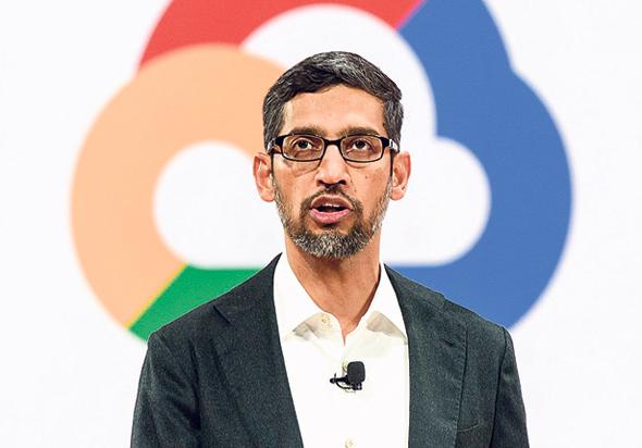 "מנכ""ל גוגל, סונדאר פיצ'אי"