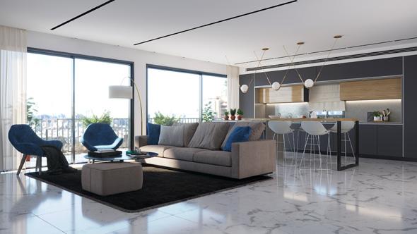 """דירה עתידית בפרויקט. גדולה ב-25 מ""""ר מהדירה הקיימת"""