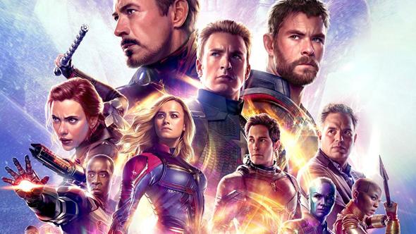 הפוסטר של הסרט - הנוקמים, פרק אחרון, צילום: Marvel Studios