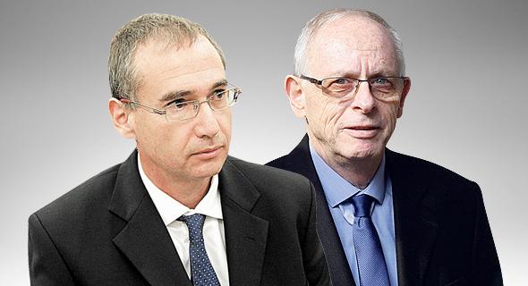 """מנכ""""ל כללית אהוד דודסון וסמנכ""""ל שיבא תל השומר ארנון אפק"""