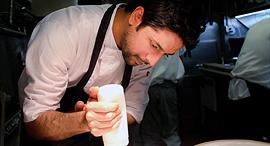 """מסיקה, שיבשל השבוע במסעדת L28 בתל אביב. """"תייר ישראלי שמתוך 60 אלף מסעדות בא לאכול אצלי גורם לי לבכות, צילום: ליאת הלפרן מסיקה"""