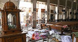 סרי לנקה פיגוע פיצוץ כנסיה, צילום: איי אף פי