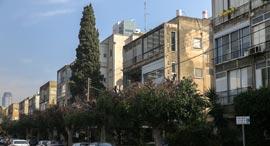 רחוב ארלוזורוב תל אביב, צילום: אוראל כהן
