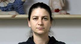 פנאי ורד אהרונוביץ' אמנית פסלת, צילום: עמית שעל