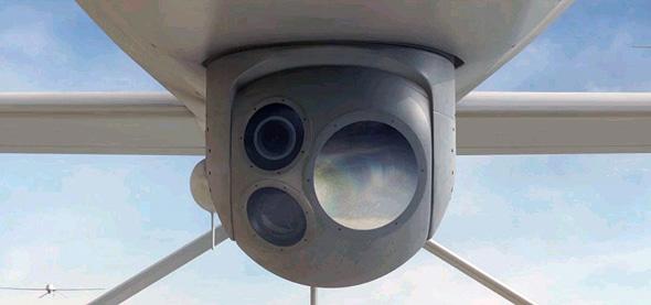 """מערכת תצפית של מל""""ט צבאי"""