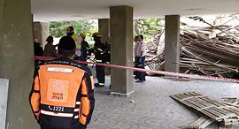 מקום התאונה, צילום: איחוד הצלה
