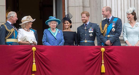 המשפחה המלכותית, צילום: גטי