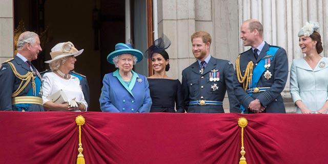 7. משפחת מלוכה בריטניה המלכה אליזבת מלכים עשירים, צילום: גטי