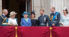 משפחת המלוכה בבריטניה, צילום: גטי