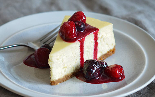 איש אחד הכין עוגת גבינה והגניב אותה לחדר המנוחה של גוגל שרק נולדה, יחד עם קורות החיים שלו, צילום: onceuponachef