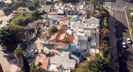 שכונת סומייל ש נושקת ל רחוב אבן גבירול ב תל אביב, צילום: תומי הרפז