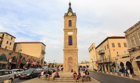 """רחוב יפת מגדל השעון יפו זירת הנדל""""ן, צילום: שאטרסטוק"""