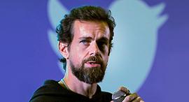 """ג'ק דורסי מייסד מנכ""""ל טוויטר דצמבר 2018, צילום: רויטרס"""