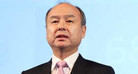 SoftBank founder and CEO Masayoshi Son. Photo: Reuters