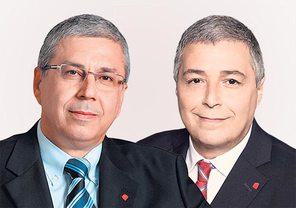 מימין אריק פינטו ו ציון קינן