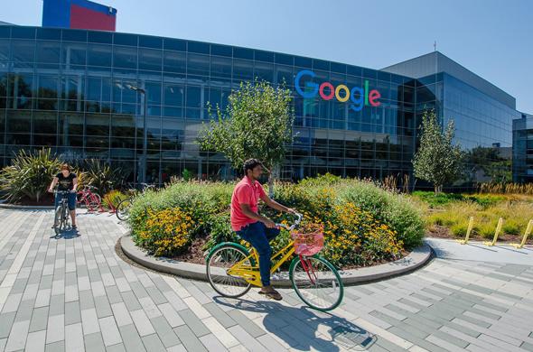 מטה גוגל בעמק הסיליקון, צילום: google