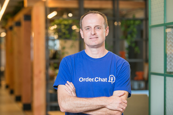 Order.Chat's co-founder and CEO Alon Schwartzman. Photo: Order.Chat